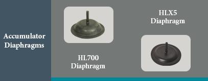 HL accumulator diaphragm